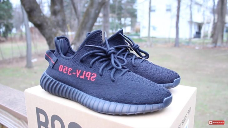 """YEEZY 350 V2 """"BRED"""" 2020 DETAILED REVIEW!"""