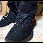 """Adidas Yeezy Boost 350 V2 """"Bred"""" On Feet"""