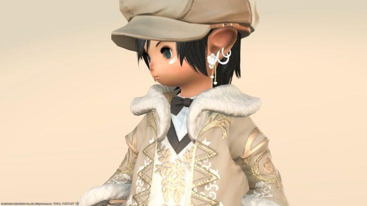 【ミラプリ】『クポクポジャケット』でちょっと上品な機械工 ~Final Fantasy XIV~