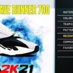 HOW TO MAKE YEEZY WAVE RUNNER 700S ON NBA 2K21!