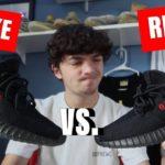 *REAL VS. FAKE* Yeezy 350 v2 Bred (2020 Restock) – WONDERKICKS