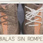 Yeezy 350 Sand Taupe le quito Infinity Laces sin romperlas!
