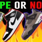 DOPE or NOPE Sneakers Releases: Carbon Fiber, Jordan 4 Taupe Yeezy 350 ash stone, Jordan 3 cool grey
