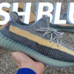 ISRAFIL 2.0?? CAP! Yeezy 350 V2 Ash Blue Review + On Feet