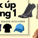 Pick Up Đầu Năm 2021 ( Guidi, Yeezy Season, Soulvenir, Vintage )