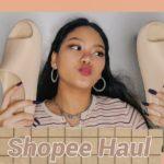 Shopee Haul✨(yeezy slides, fake nails)