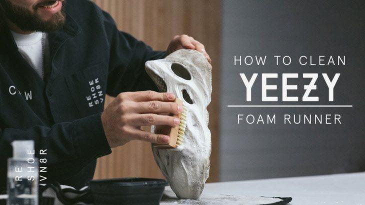 The Best Way to Clean the Yeezy Foam Runner