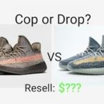 Yeezy 350 v2 ash blue and ash stone release info and resell prediction. February 27th drop