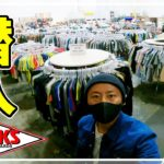 ウェットスーツが5000円?アメリカのサーフショップの倉庫に潜入!