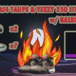 AJ4 Taupe & Yeezy 350 LIVE COP w/Balko Bot