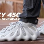 Adidas YEEZY 450 Cloud White REVIEW & GIVEAWAY