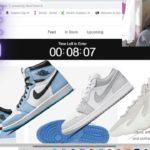 Adidas Yeezy 450 Cloud , Air Jordan 1 University Blue & AJ1 low Berlin Snkrs App LIVE COP