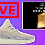 🔴 LIVE COP: Adidas Golden Ticket Giveaway & YEEZY BOOST 350 V2!!!!