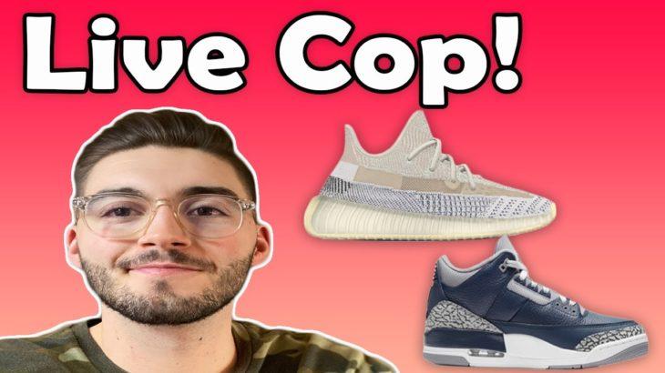 🔴 Live Cop : Yeezy 350 'Ash Pearl' & Jordan 3 Midnight navy! 🔴   *Ask If You Need Help*