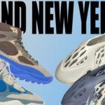 New Yeezy Foam RNNR MXT Moon Gray & Sand! Yeezy Desert Boot Taupe Blue! Yeezy 500 High Frosted Blue!