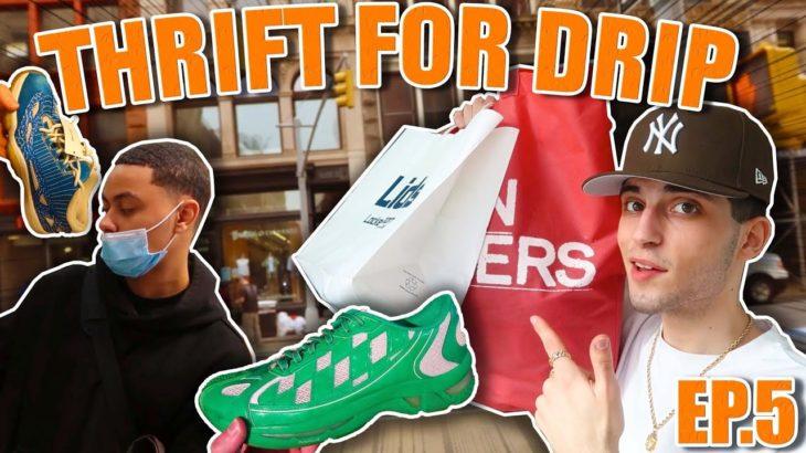 Thrift For Drip (ep5) | Yeezy, Jordan's, Asics & More ‼️