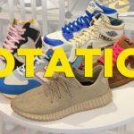 What I'm wearing: Nike Dunks, OG Jordans, Yeezy, and New Balance