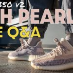 YEEZY 350 ASH PEARL LIVE UNBOXING and Q&A
