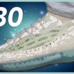 YEEZY 380 Alien Blue On Feet