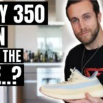 YEEZY BOOST 350 LINEN UNBOXING, REVIEW & ON-FEET