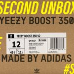 Yeezy 350 Ash Blue 30 Second Uboxing #Shorts