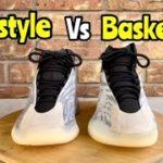 Yeezy QNTM Basketball vs Lifestyle