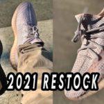 Adidas YEEZY 350 2021 REFLECTIVE RESTOCK / BLACK STATIC VS SYNTH