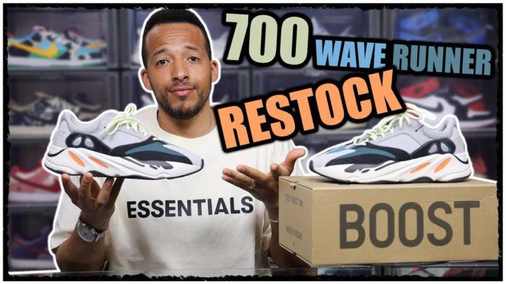 Adidas Yeezy Boost 700 Wave Runner Restock 2021