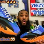 """EARLY IN HAND LOOK AT THE YEEZY 700 V1 """"BRIGHT BLUE"""" !! THESE ARE INSANE IN HAND 🔥🔥🔥 MUST COP!!"""