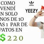 En Ebay Se vendierón en 1 día Adidas Yeezy  con buena ganancia