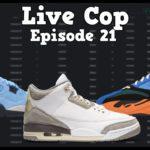 Ep. 21   Yeezy 700 Bright Blue, Yeezy Slide Core & Pure, AJ4 Uni Blue, AJ3 A Ma Maniere Live Cop