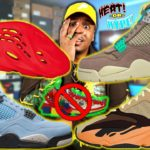WTF ARE THESE! Upcoming Fire 2021 Sneaker Releases! RED OCTOBER YEEZYS, UNION 4 & UNIVERSITY BLUE 4!