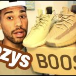 Yeezy Earth Tone Review ( Yeezy 350 v2 Sulfur unboxing)