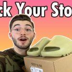 Yeezy Slide 'Resin' INSTORE Pickup Vlog, Full Review, Resell Prices, & RESTOCK RUMORS!