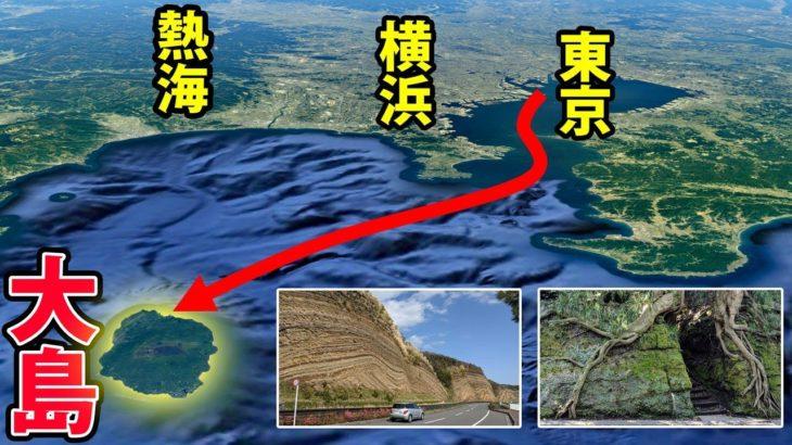 【伊豆大島】東京から100分で行ける火山島 大島1周旅行