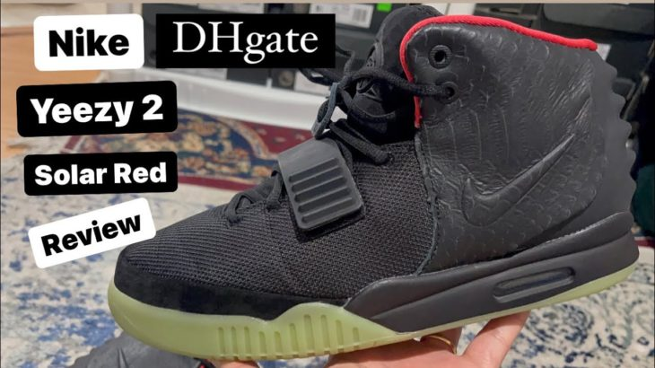 A must watch DHgate Nike Yeezy 2 Solar Red review.