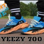 """ADIDAS YEEZY 700 """"BRIGHT BLUE"""" REVIEW & ON FEET"""