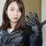ASMR レザージャケットと革手袋 ASMR leather jacket and leather gloves #190