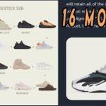 Adidas YEEZY RESTOCK LIST OF 2ND HALF OF 2021