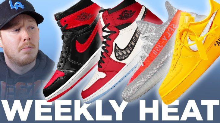 Chicago DIOR Air Jordan 1 & YEEZY 350 Beluga Reflective Sneakers: WEEKLY HEAT