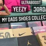 DADDY'S SHOE COLLECTION/YEEZY OR JORDAN?//VLOG 4