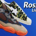 LIVE COP: Adidas Yeezy 500 Enflame & Adidas Bape Superstar