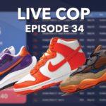 SACAI VAPORWAFFLE DARK IRIS | NIKE DUNK HIGH SYRACUSE | YEEZY 500 ENFLAME LIVE COP EP. 34