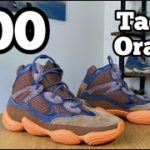 Yeezy 500 High Tactile Orange Review& On foot