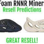Yeezy Foam Runner Mineral Blue + Foam Runner Sand Restock- Resell Predictions – Great Resell!