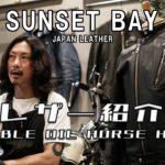 【革紹介】-DOUBLE OIL HORSE HIDE- ライダースジャケットに使われているレザーを紹介!