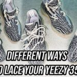 Different Ways To Lace Your Yeezy 350 V2s – Featuring 'Zebra 350s'