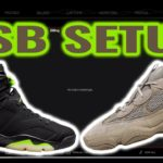 NSB SETUP FOR BEGINNERS: Yeezy 500 Taupe Light & AJ Electric Green/ How to make tasks! (June 2021)