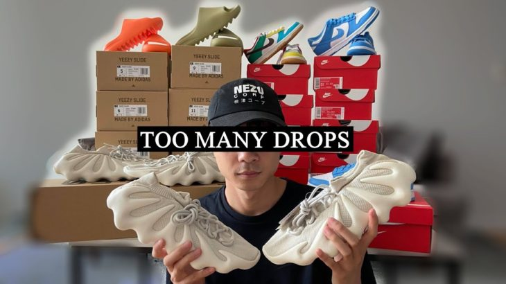 SO MANY DROPS!!! Yeezy Slides, AJ4 Union, YZY 450s, Dunks, Supreme Bogo – Sneakers To Riches Ep 110