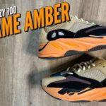 THE YEEZY 700 ENFLAME AMBER IS INSANE!